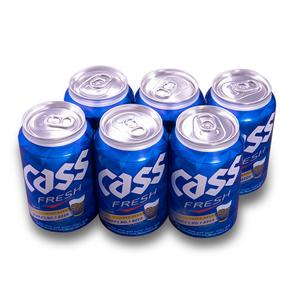 韓國CASS啤酒 330ml*6罐