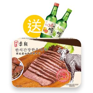 韓風醬油即食韓牛片 150克