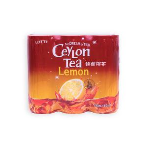 樂天 錫蘭檸檬茶 240ML*6罐