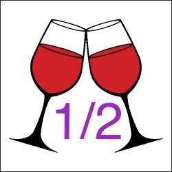 2 iii Half Glass