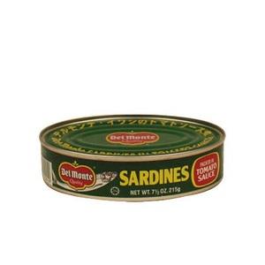 地捫茄汁沙甸魚 215克
