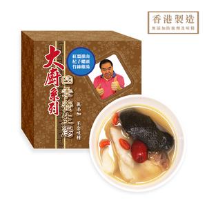 大廚系列 - 紅棗淮山杞子螺頭竹絲雞湯 400ml