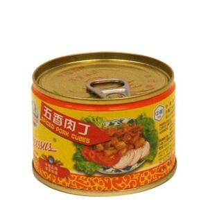 水仙花牌 五香肉丁 142克
