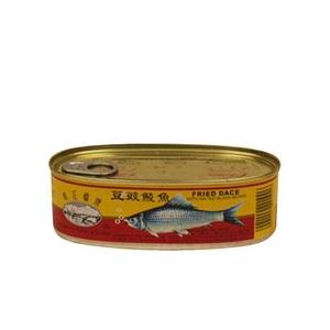 珠江橋牌豆豉鯪魚 227克